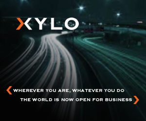 XYLO. Wherever you are. Whatever you do, the world is now open for business.